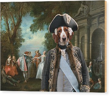 Welsh Springer Spaniel Art Canvas Print Wood Print