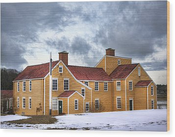Wentworth Coolidge Mansion Wood Print by Eric Gendron