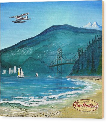 West Coast Dream Wood Print by John Lyes