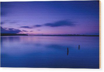 West Loch Sunrise Wood Print