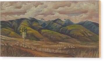 West Maui Splender  Wood Print by Darice Machel McGuire