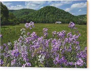 West Virginia Serenity  Wood Print by Thomas R Fletcher