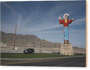 West Wendover Nevada Wood Print by Frank Romeo