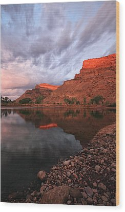 Wood Print featuring the photograph Western Colorado by Ronda Kimbrow