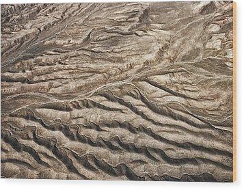 Western Desert Tapestry Wood Print by Gary Slawsky