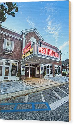 Westhampton Beach Performing Arts Center Wood Print