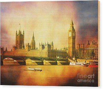 Westminster 2 Wood Print by Heidi Hermes