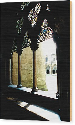 Westminster Abbey Courtyard Wood Print