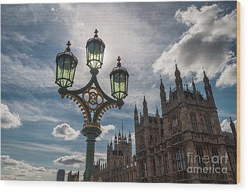 Wood Print featuring the photograph Westminster by Matt Malloy