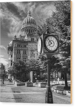 Westmoreland Courthouse Greensburg Wood Print by Coby Cooper