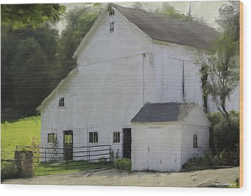 Westport Barn Wood Print