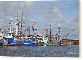 Westport Fishing Boats 2 Wood Print