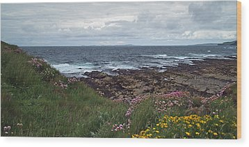 Westray Firth Wood Print by Steve Watson