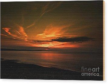 Weymouth  Golden Sunrise Wood Print