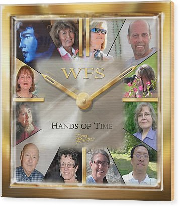Wfs Hands Of Time Wood Print by Doug Kreuger