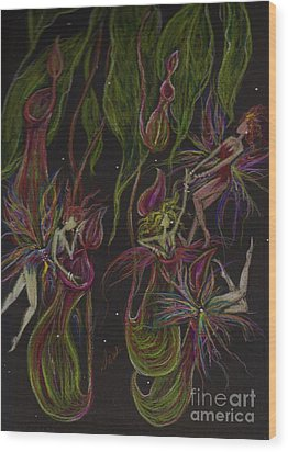 What Happened In Borneo Stays In  Borneo Wood Print by Dawn Fairies