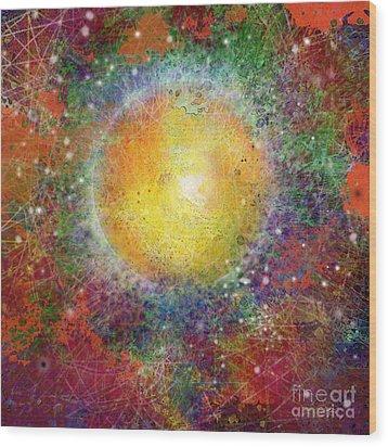What Kind Of Sun Viii Wood Print by Carol Jacobs