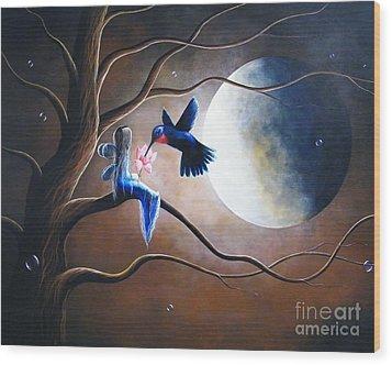 What Love Looks Like By Shawna Erback Wood Print by Shawna Erback