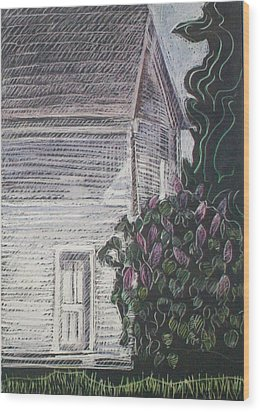 When Lilacs Last... Wood Print