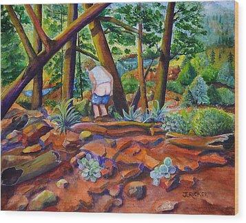 When Nature Calls Wood Print