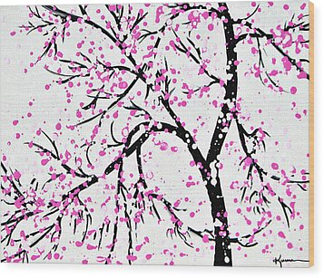When Spring Comes Wood Print by Kume Bryant