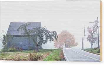 When You Take A Drive Wood Print by Richard Bean