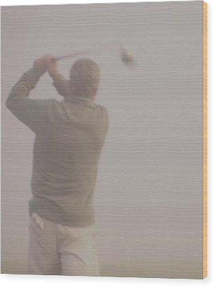 Where Did My Golf Ball Go Wood Print