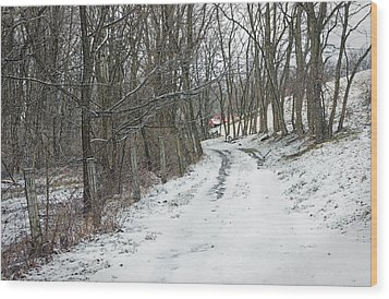 Where The Road May Take You Wood Print