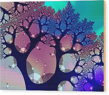 Whimsical Forest Wood Print