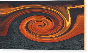 Wood Print featuring the photograph Whirlpool by Aimee L Maher Photography and Art Visit ALMGallerydotcom
