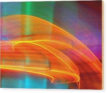 Whirlwind On Venus Wood Print by James Welch