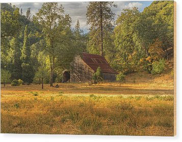 Whiskeytown Barn Wood Print