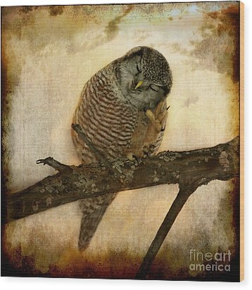 Whispered In The Sounds Of Silence Wood Print by Heather King