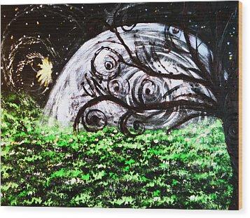 Whispering Fairytales Wood Print