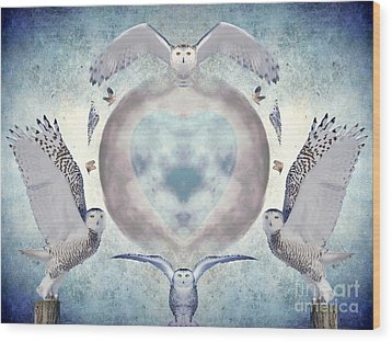 Whispers Of My Imagination Wood Print by Heather King