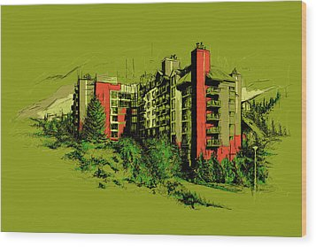 Whistler Art 003 Wood Print by Catf