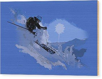 Whistler Art 005 Wood Print by Catf