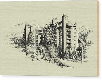 Whistler Art 007 Wood Print by Catf
