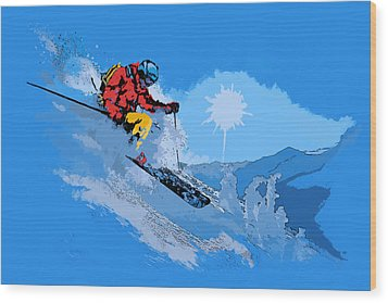 Whistler Art 008 Wood Print by Catf
