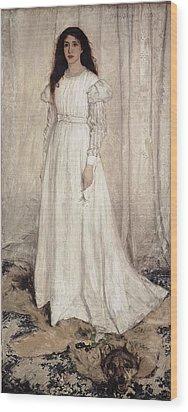 Whistler, James Abbott Mcneill Wood Print by Everett