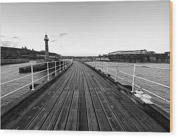 Whitby Wood Print