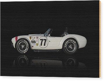 White Cobra Wood Print by Douglas Pittman