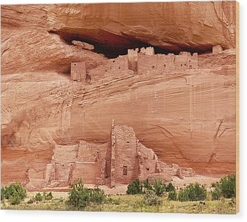 White House Ruins Canyon De Chelly Wood Print