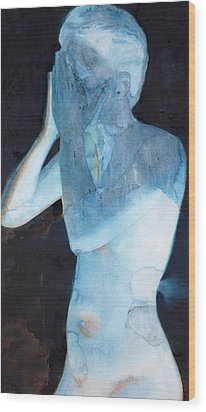 White Lights I Wood Print by Graham Dean