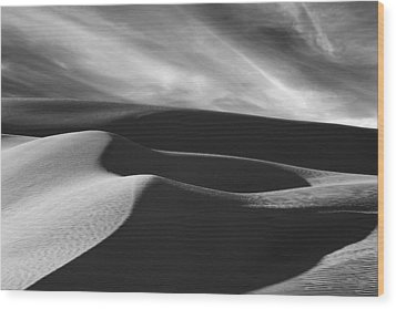 White Sands #2 Wood Print by Wendell Thompson
