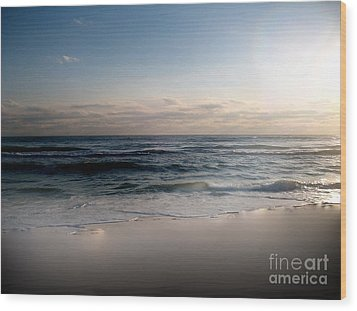 White Sands Wood Print by Jeffery Fagan