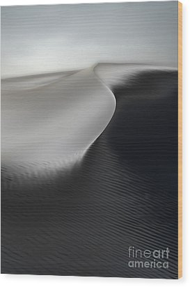White Sands New Mexico Razor Back 02 Wood Print by Gregory Dyer