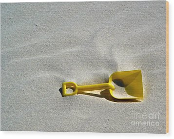 White Sands New Mexico Sand Boz Wood Print by Gregory Dyer