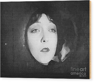 White Sister Wood Print