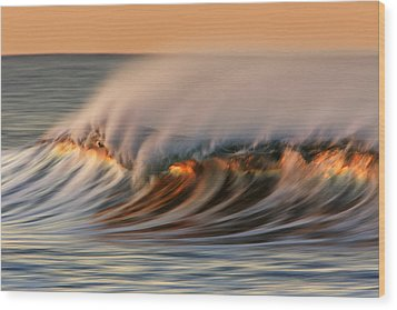 White Water Glow  Mg_0328 Wood Print by David Orias